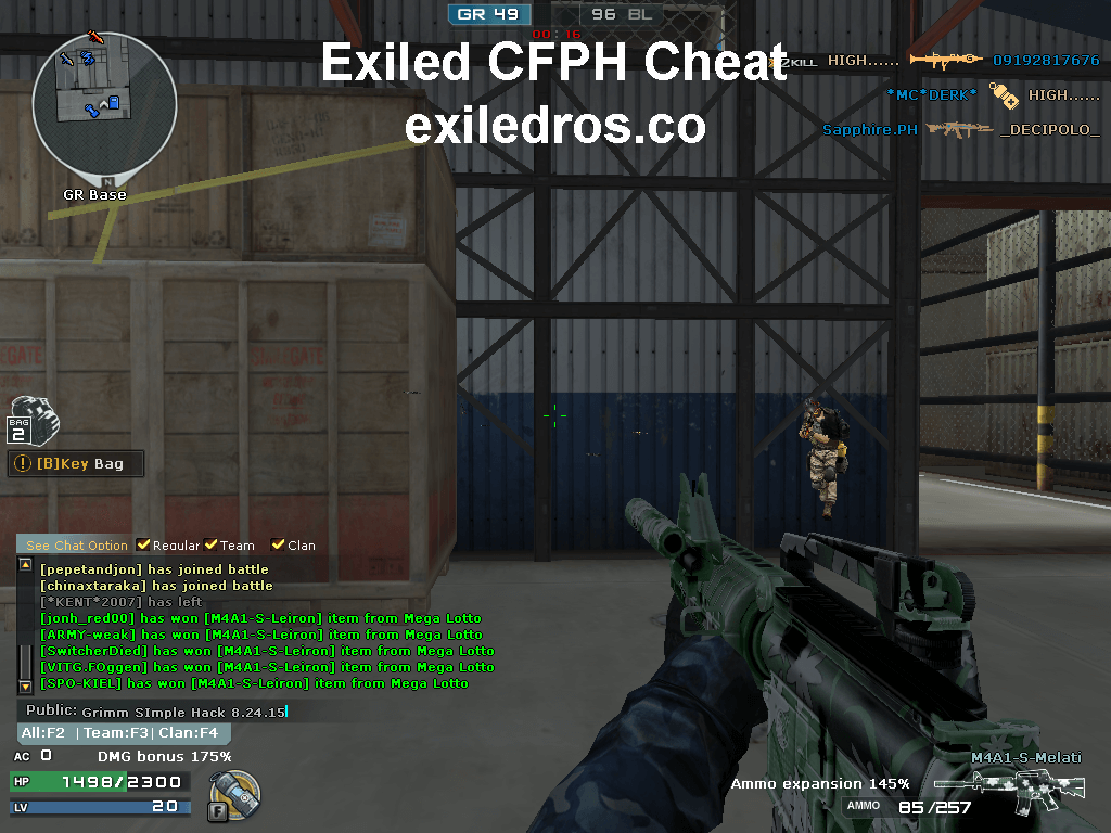 Download Exiled CFPH Cheat Latest Version