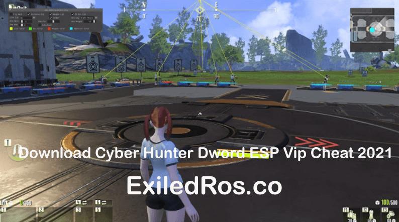 Download Cyber Hunter Dword ESP Vip Cheat 2021