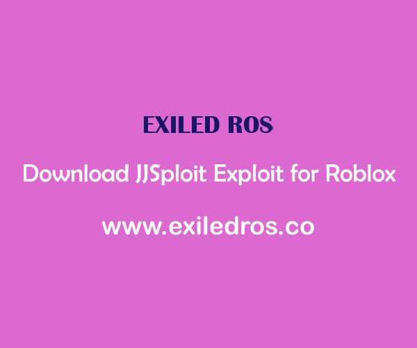 Download JJSploit Exploit for Roblox